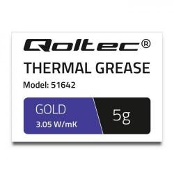 Pasta Termoconductoare Qoltec 51642, 5g, Gold