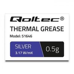 Pasta Termoconductoare Qoltec 51646, 0.5g, Silver
