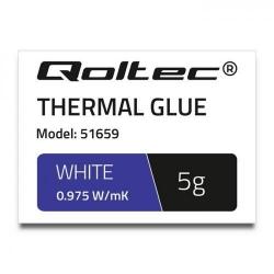 Pasta Termoconductoare Qoltec 51659, 5g, Grey