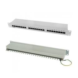 Patch Panel 24 porturi, RJ45 FTP, Categ 5e ITB IT-24P-CAT5E-ECR