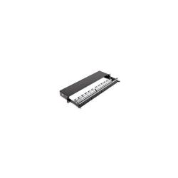 Patch Panel Nexans N521.663BK, 19inch, 24 porturi, Black