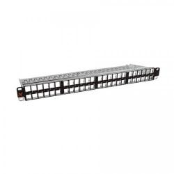 Patch Panel Nexans LANmark N521.668KIT, 19inch, 48 porturi, Black
