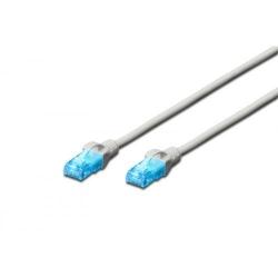 Patchcord Digitus Premium, UTP, CAT5e, 1m, White