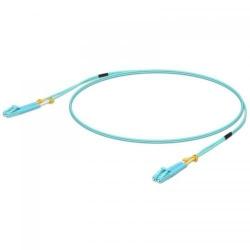 Patchcord fibra optica Ubiquiti Unifi, duplex, LC / LC , 1m, Blue
