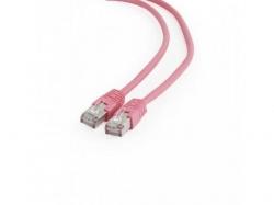 Patchcord Gembird, FTP, Cat. 6, 0.25m, Pink
