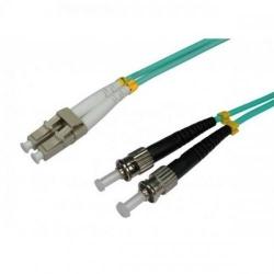 Patchcord Intellinet 305823, ST-LC, 3m, Green