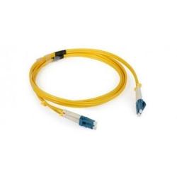 Patchcord Nexans LANmark, Duplex LC-LC, 2m, Yellow