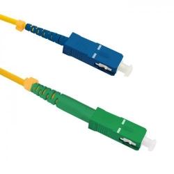 Patchcord Optic Qoltec 54293, SC/APC - SC/UPC, 7m