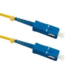 Patchcord Optic Qoltec 54296, SC/UPC - SC/UPC, 0.5m