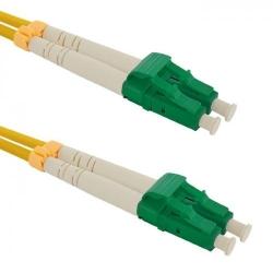Patchcord Optic Qoltec LC/APC-LC/APC, Duplex, 2m