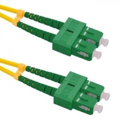 Patchcord Optic Qoltec SC/APC-SC/APC, Duplex, 2m
