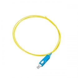 Pigtail Nexans LANmark LSZH, SC, 1m, Yellow