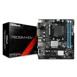 Placa de baza ASRock 760GM-HDV, AMD 760G, Socket AM3+, mATX