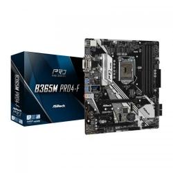 Placa de baza ASRock B365M PRO4-F, Intel B365, Socket 1151 v2, mATX