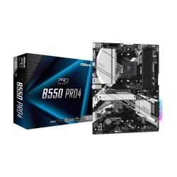 Placa de baza ASROCK B550 PRO4, AMD B550, socket AM4, ATX