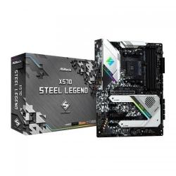 Placa de baza ASRock X570 Steel Legend, AMD X570, Socket AM4, ATX