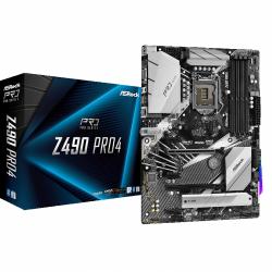 Placa de baza ASRock Z490 Pro4, Intel Z490, socket 1200, ATX