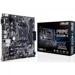 Placa de baza ASUS PRIME B350M-K, AMD B350, Socket AM4, mATX