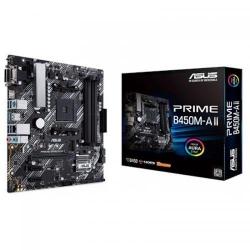 Placa de baza ASUS PRIME B450M-A II, AMD B450, Socket AM4, mATX