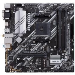 Placa de baza ASUS PRIME B550M-A (WI-FI), AMD B550, socket AM4, mATX