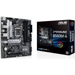 Placa de baza Asus PRIME B560M-A, Intel B560, socket 1200, mATX