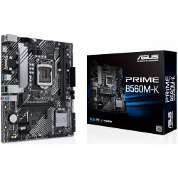 Placa de baza Asus PRIME B560M-K, Intel B560, socket 1200, mATX