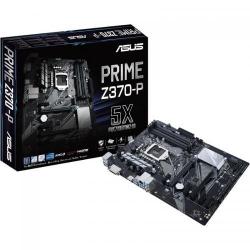 Placa de baza ASUS PRIME Z370-P, Intel Z370, Socket 1151 v2, ATX