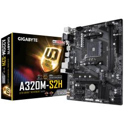 Placa de baza Gigabyte A320M-S2H V1.1, AMD A320, socket AM4, mATX