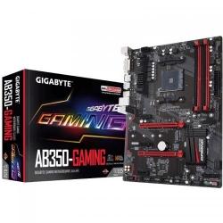 Placa de baza Gigabyte AB350-Gaming, AMD B350, socket AM4, ATX