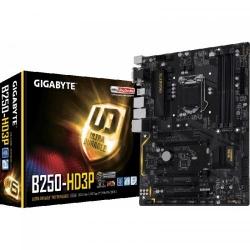 Placa de baza Gigabyte B250-HD3P, Intel B250, socket 1151, ATX