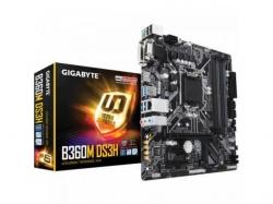Placa de baza Gigabyte B360M-DS3H, Intel B360, socket 1151 v2, mATX