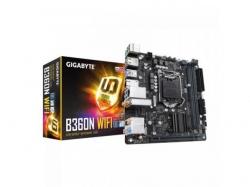 Placa de baza GIGABYTE B360N WIFI, Intel B360, Socket 1151 v2, mITX