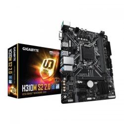 Placa de baza GIGABYTE H310M S2 2.0, Intel H310, Socket 1151 v2, mATX