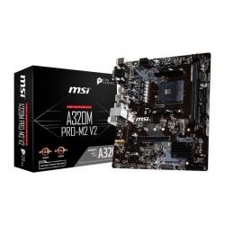 Placa de baza MSI A320M PRO-M2 V2, AMD A320, Socket AM4, mATX