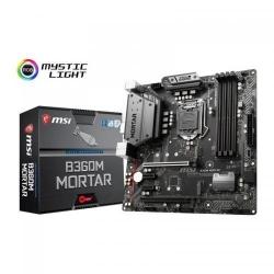 Placa de baza MSI B360M MORTAR, Intel B360, socket 1151 v2, mATX