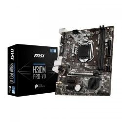 Placa de baza MSI H310M PRO-VD, Intel H310, socket 1151 v2, mATX