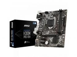 Placa de baza MSI H310M PRO-VDH, Intel H310, Socket 1151 v2, mATX