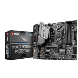 Placa de baza MSI MAG B365M MORTAR, Socket 1151 v2, mATX