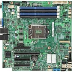Placa de baza Server Intel S1200V3RPL, socket 1150, u-ATX