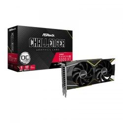 Placa video ASRock AMD Radeon RX 5500 XT Challenger D OC 8GB, GDDR6, 128bit