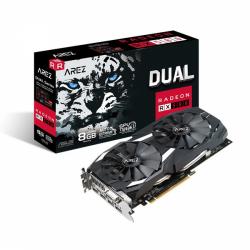 Placa video ASUS AMD Radeon RX 580 8GB, GDDR5, 256bit