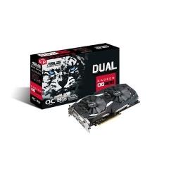 Placa video Asus AMD Radeon RX 580 Dual series, 8GB, GDDR5, 256bit