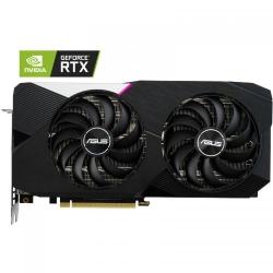 Placa video ASUS Dual GeForce RTX 3060 Ti OC, 8GB GDDR6, 256-bit LHR