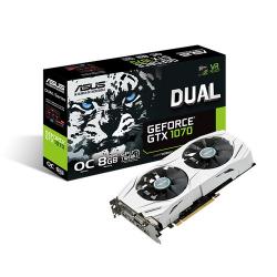 Placa video Asus nVidia GeForce GTX 1070 DUAL OC 8GB, DDR5, 256bit