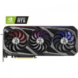 Placa video ASUS ROG Strix GeForce RTX 3060 Ti OC V2, 8GB GDDR6, 256-bit LHR