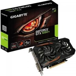 Placa video Gigabyte nVidia GeForce GTX 1050 Ti OC 4GB DDR5, 128bit