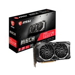 Placa video MSI AMD Radeon RX 5600 XT MECH OC, 6GB, GDDR6, 192bit