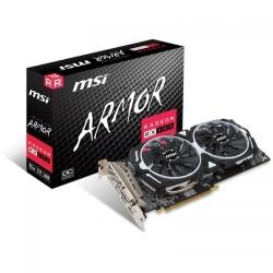 Placa video MSI AMD Radeon RX 580 Armor OC 8GB, DDR5, 256bit