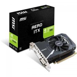 Placa video MSI nVidia GeForce GT 1030 AERO ITX OC 2GB, DDR5, 64bit