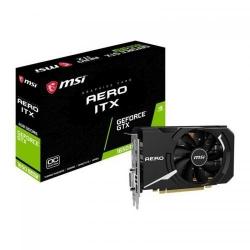 Placa video MSI nVidia GeForce GTX 1650 SUPER Aero ITX OC, 4GB, GDDR6, 128bit